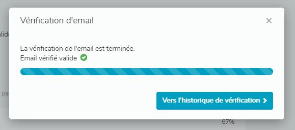 Vérifier l'envoi d'un mail